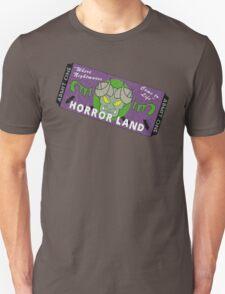 Horrorland Ticket Unisex T-Shirt