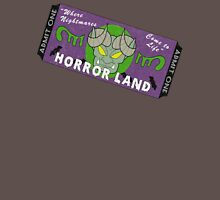 Horrorland Ticket Unisex T-Shirt