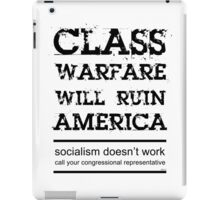 Class Warfare iPad Case/Skin
