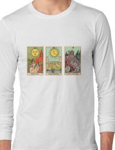 The Sun, The Moon, The Truth [Tarot] Long Sleeve T-Shirt