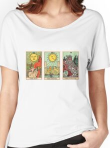 The Sun, The Moon, The Truth [Tarot] Women's Relaxed Fit T-Shirt