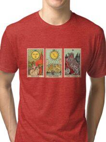 The Sun, The Moon, The Truth [Tarot] Tri-blend T-Shirt