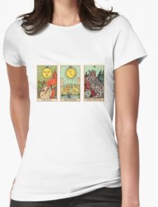 The Sun, The Moon, The Truth [Tarot] Womens Fitted T-Shirt