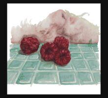 Ripe Red Radberries 8 One Piece - Long Sleeve
