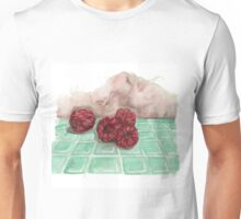 Ripe Red Radberries 8 Unisex T-Shirt