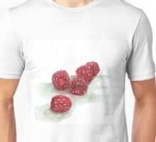 Ripe Red Radberries 9 Unisex T-Shirt