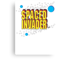 Space Invaders spoof - Spaced Invader Canvas Print