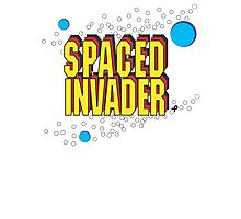 Space Invaders spoof - Spaced Invader Photographic Print