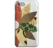 Paper Flowers B iPhone Case/Skin
