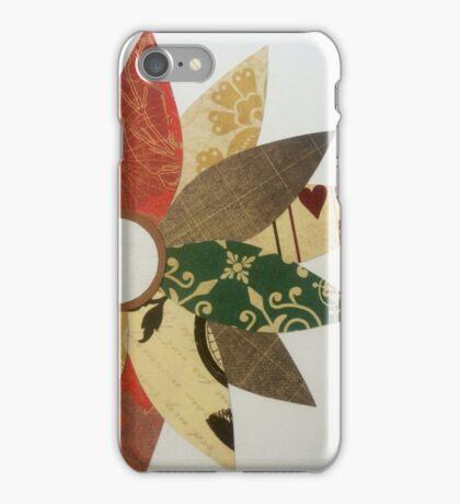 Paper Flowers B iPhone Case/Skin