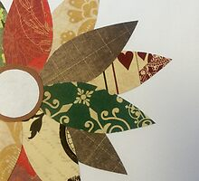 Paper Flowers B by clairejudith