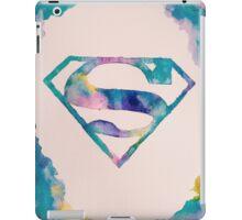 Watercolor Superman iPad Case/Skin