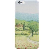 Tuscan Vineyard, Tuscany, Italy iPhone Case/Skin