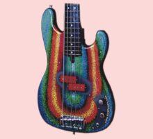 Kirk Powers - Custom Alleva Coppolo kbp5 Bass Kids Tee