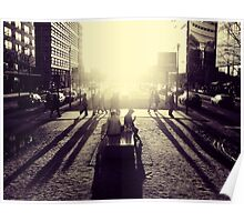 Sunset at Potsdamer Platz Poster