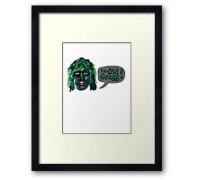 The Mighty Boosh - I'm Old Gregg Framed Print