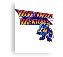 Rocket Knight Adventures (big print) Canvas Print