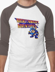 Rocket Knight Adventures (big print) Men's Baseball ¾ T-Shirt