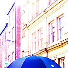 Blue Umbrella by YoungPoet