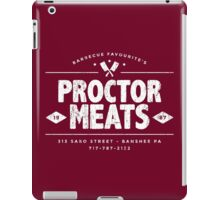 Proctor Meats (worn look) iPad Case/Skin