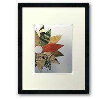 Paper Flowers D Framed Print