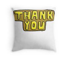 Thankyou Throw Pillow