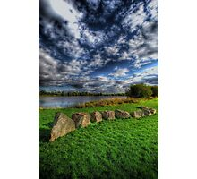 Rocks N' Rolling Clouds Photographic Print