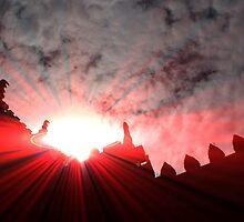 Dracula`s Castle by John Dalkin