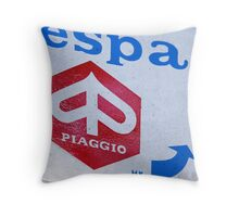 Piaggio Throw Pillow