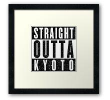 Kyoto Represent! Framed Print
