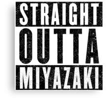 Miyazaki Represent! Canvas Print