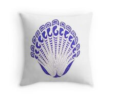 tribal shell Throw Pillow