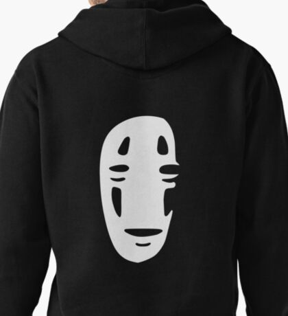 No Face - Shadow Large Pullover Hoodie