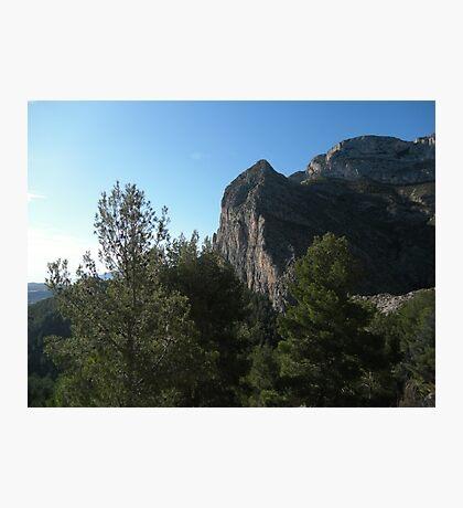 El Ponoch Echo Valley Mountain Range Spain Photographic Print