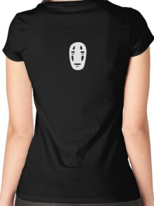 No Face - Small Women's Fitted Scoop T-Shirt