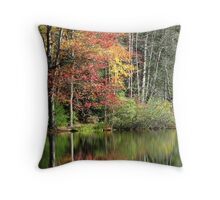 Serenity of Autumn Throw Pillow