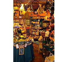 Vintage gift shop in Provance, FRANCE Photographic Print