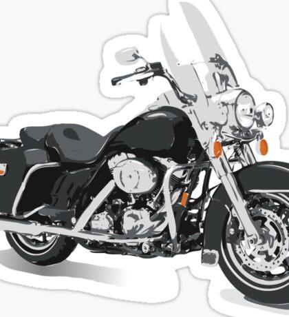 Harley-Davidson Style Bike Sticker