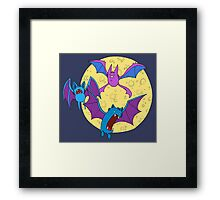 Zubat, Golbat, and Crobat Framed Print