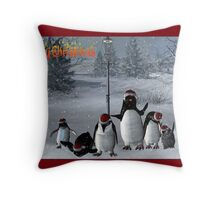 Christmas Carrol  Throw Pillow