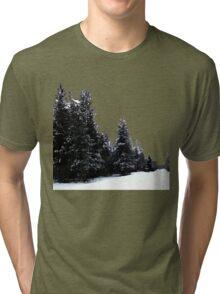 Snowy Trail Tri-blend T-Shirt