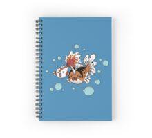 Goldeen and Seaking Spiral Notebook