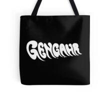 White Gengahr Logo Tote Bag
