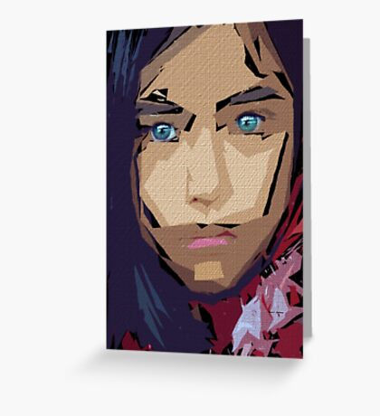 Female Expressions 710 Greeting Card