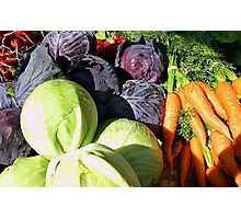 Veggies Photographic Print