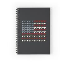 Second Amendment Flag Spiral Notebook