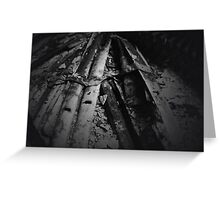 Blinds - Urban Decay Greeting Card