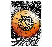 Persona Q Clock Poster