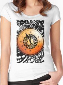 Persona Q Clock Women's Fitted Scoop T-Shirt