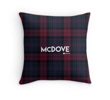 Dress McDove Full Tartan Throw Pillow